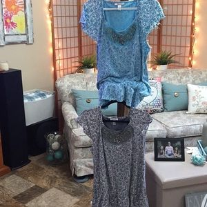 Style & Co two tunics
